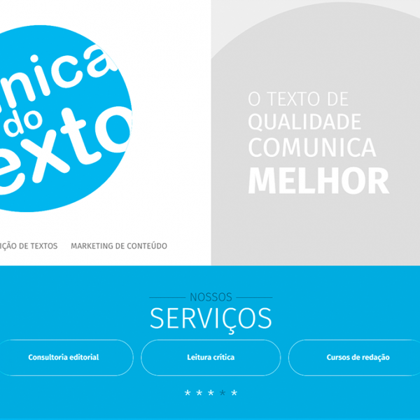 Website Clínica do Texto