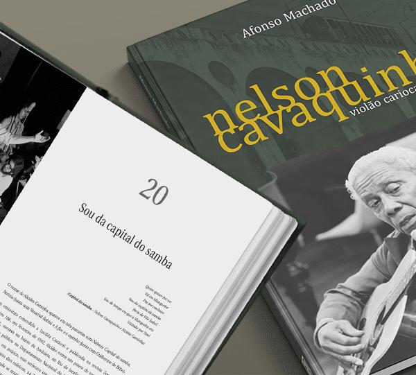 Livro Nelson Cavaquinho: violão carioca