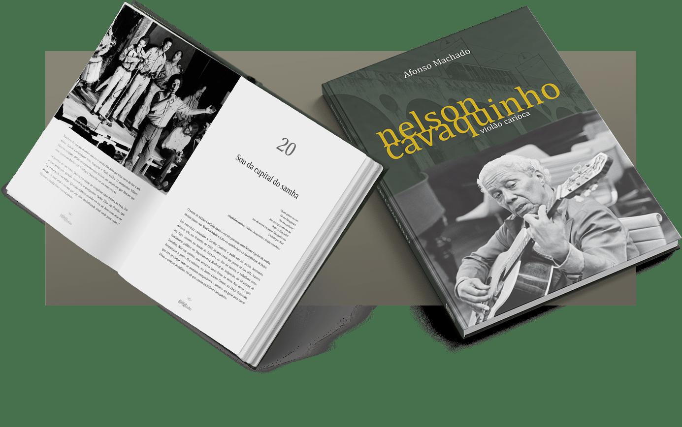 Livro Nelson Cavaquinho: violão carioca - Foto 3