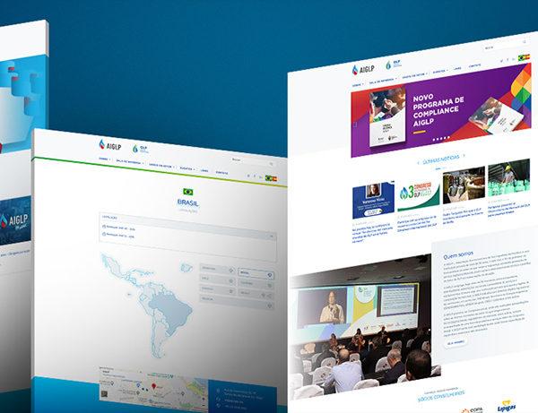 Website da AIGLP